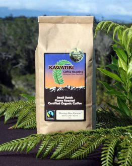 Kawatiri Burning mine espresso organic coffee