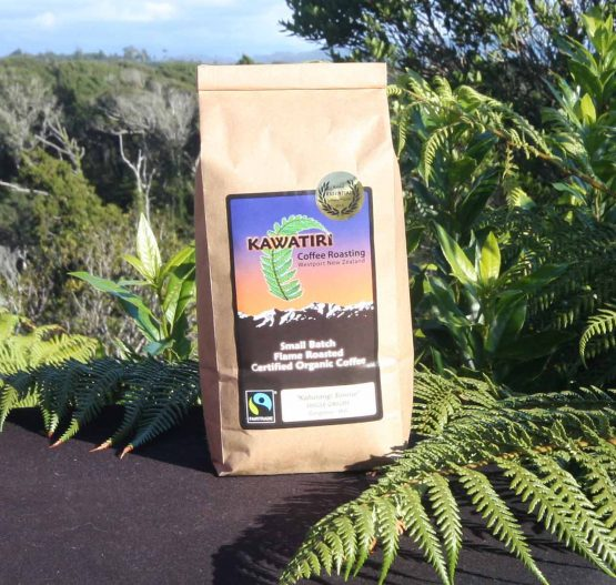 Kahurangi sunrise organic coffee