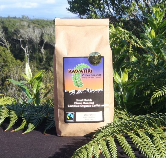 Okari Dark Ground organic coffee