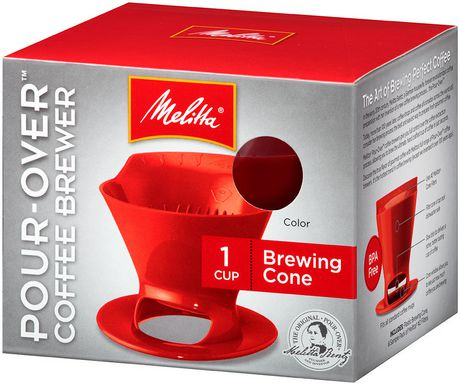 Malitta pour over coffee cone
