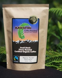 Paparoa Thunder Ground fair trade coffee